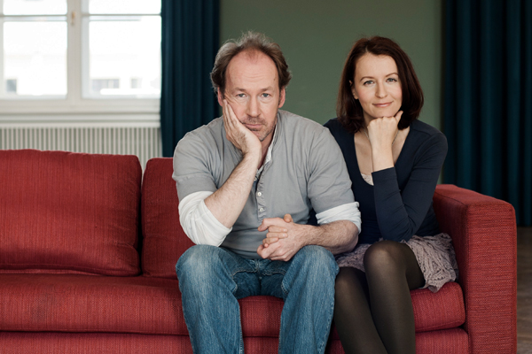 Ulrich Noethen und Alina Bronski MYSELF © Andreas Reeg