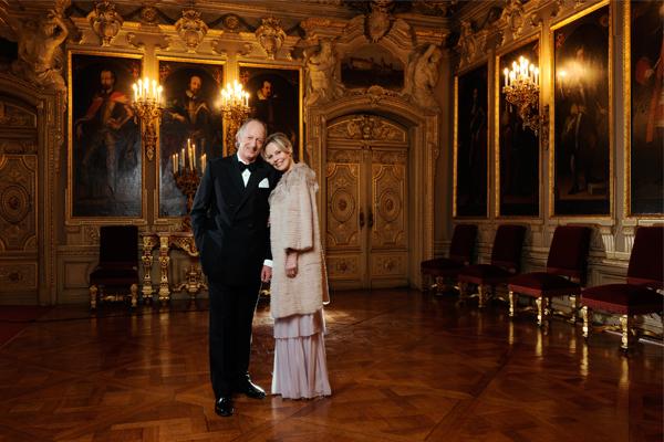 Fürst und Fürstin von Hohenzollern, Schloss Sigmaringen BUNTE © Paul Schirnhofer