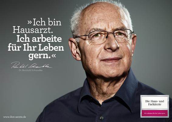 Ärztekampagne, 18/1 Plakat © Jens Ihnken